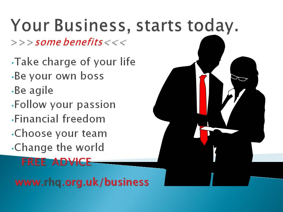 Your Business, starts today